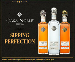 Casa Noble Sipping Perfection Rectangle Digital Banner - No CTA – 300x250 - For Online Use Only - Not for print or paid media