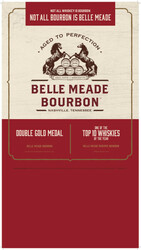 Belle Meade Bourbon Holiday FY21 Small Case Card