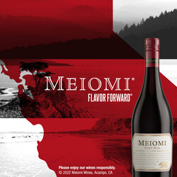 Meiomi Pinot Noir Flow FY23 Facebook Digital Banner - No CTA - 1080x1080 - For Online Use Only, Not for print or paid media