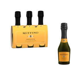 Ruffino Prosecco FY22 187ml Bottle 3pk COPHI - No Text