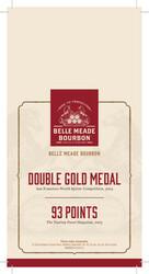Belle Meade Bourbon Holiday FY21 Shelf Talker