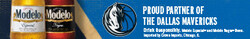 2021 Modelo Dallas Mavericks - eComm - Banner - No CTA - 320 x 50 - Online use only – not for print