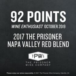 The Prisoner Red Blend EdPi Image - Award
