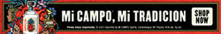 Mi CAMPO Day of the Dead Digital Banner - Shop Now CTA - 320x50 - For Online Use Only - Not for print or paid media