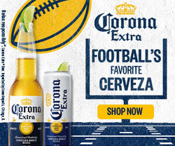 2021 Corona Extra Football Flow eComm - Rectangle - Shop Now CTA - 320 x 250 - Online use only – not for print