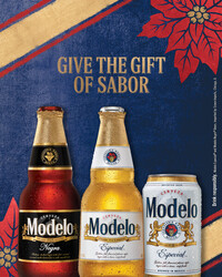 2021 Modelo Holiday - Vertical Story Version 2 - Social Asset - Online use only – not for print