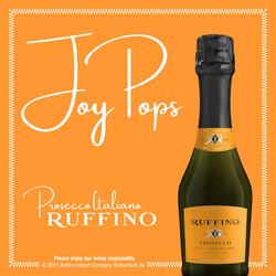 Ruffino Prosecco 187ml 3-Pack Bottles EdPi Image - Brand