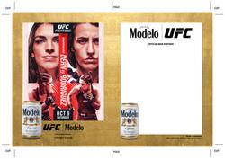 Modelo UFC Fight Night- Dern Vs Rodriguez Can Wood Insert Template