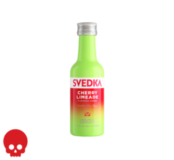 SVEDKA Cherry Limeade 50ml Plastic Bottle Halloween No Text Icon COPHI - Temporary Image