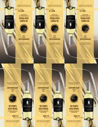 2018 Robert Mondavi Private Selection Sauvignon Blanc Shelf Talker 2020 Monterey International Wine Competition 90 Points Gold Medal