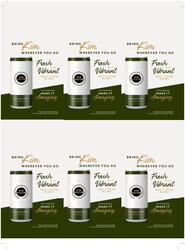 Kim Crawford Sauvignon Blanc Can Holiday FY22 6 Up Shelf Talker