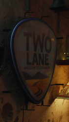 Two Lane The Bar Neon Sign :06 - 9x16