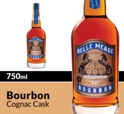 Belle Meade Bourbon XO Cognac Cask Whiskey 750ml Bottle COPHI