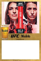 Modelo UFC Fight Night- Dern Vs Rodriguez Draft Poster Template