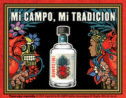 Mi CAMPO Day of the Dead Digital Banner - No CTA - 320x250 - For Online Use Only - Not for print or paid media