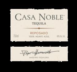 Casa Noble Reposado 750ml Front Label - MOCKUP