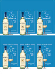 Ruffino Lumina Pinot Grigio Holiday FY22 6 Up Shelf Talker