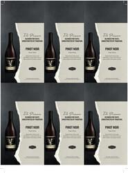 The Prisoner Pinot Noir Holiday FY22 6 Up Shelf Talker