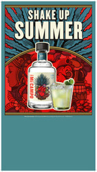 Mi Campo Tequila Blanco Summer FY22 Small Case Card
