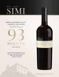 SIMI 2018 Landslide Vineyard Cabernet Sauvignon Reserve Hot Sheet Anthony Dias Blue Blue Lifestyle 93 Points
