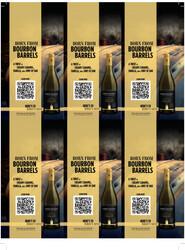 Robert Mondavi Private Selection BBA Chardonnay Holiday FY22 6 Up Shelf Talker