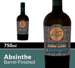 Copper & Kings Absinthe Alembic Barrel Finished 750 mL Bottle COPHI
