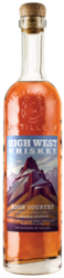 High West High Country American Single Malt 750ml Front Bottle Shot - Light Back\ground