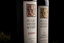 Mount Veeder Winery 2017 Reserve 2018 Cabernet Sauvignon Hero Image - Labels 2