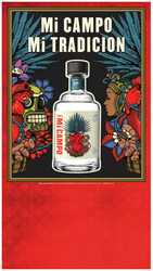 Mi CAMPO Day Of The Dead Blanco Summer FY22 Case Card