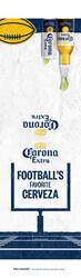 2021 Corona Extra Football Flow - Acrylic Menu (English)