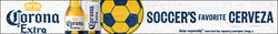 2021 Corona Extra Soccer Flow eComm - Leaderboard - No CTA - 728 x 90 - Online use only – not for print