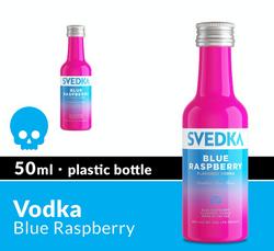 SVEDKA Blue Raspberry 50ml Plastic Bottle Halloween Icon COPHI - Temporary Image