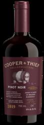 2019 Cooper & Thief Pinot Noir Front Bottle Shot