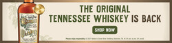 Nelson's Green Brier Tennessee Whiskey 750ml Bottle FY22 Digital Banner - Shop Now CTA - 1600x400 - For Online Use Only - Not For Print Or Paid Media