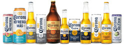 Family of Brands 2021 Corona Bottles Cans w CR and CHS