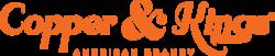 Copper & Kings Linear Logo - Orange