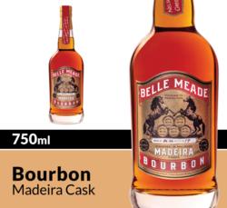 Belle Meade Bourbon Madeira Cask Whiskey 750ml Bottle COPHI