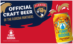 Funky Buddha - Panthers - FL Can - Banner Stand