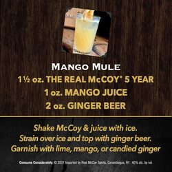 The Real McCoy 5Yr PDP Image - Recipe