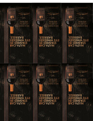 Cooper & Thief Cabernet Sauvignon 750ml Shelf Talkers - Tasting