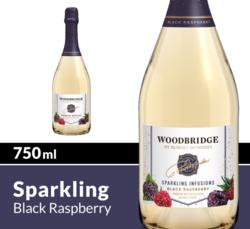 Woodbridge Sparkling Infusions Black Raspberry 750ml Bottle COPHI
