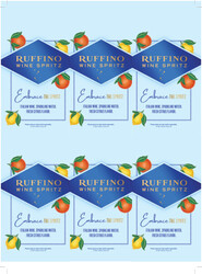 Ruffino Wine Spritz Holiday FY22 6 Up Shelf Talker