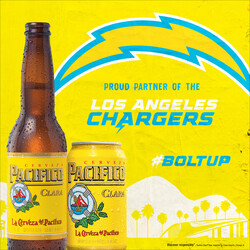 2021 Pacifico LA Chargers - Square Post - Social Asset - Online use only – not for print