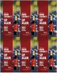 Robert Mondavi Private Selection 100% Cabernet Sauvignon Holiday FY22 6 Up Shelf Talker