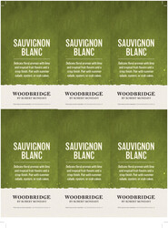 Woodbridge Sauvignon Blanc Holiday FY22 6 Up Shelf Talker