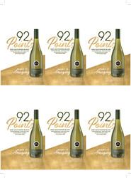 Kim Crawford 2020 Sauvignon Blanc Holiday FY22 Blue Lifestyle 92 Points 6 Up Shelf Talker