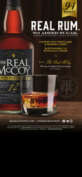 The Real McCoy 12 Year Rum Spring FY22 Custom Case Card