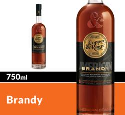 Copper & Kings American Craft Brandy 750 mL Bottle COPHI