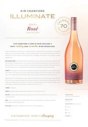 Kim Crawford 2021 Illuminate Rosé NSRP Tasting Note - Rest of the World