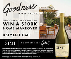 SIMI Sonoma County Chardonnay Summer Sweeps Summer FY22 Rectangle Digital Banner - No CTA - 300x250 - Online Use Only, Not for print